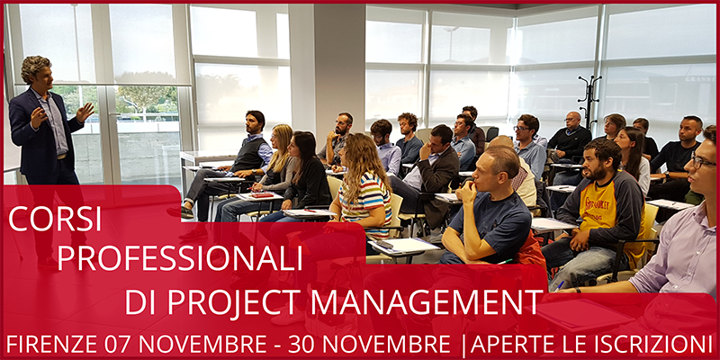 Corso professionale di Project Management a Firenze