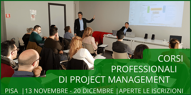 Corso professionale di Project Management a Pisa