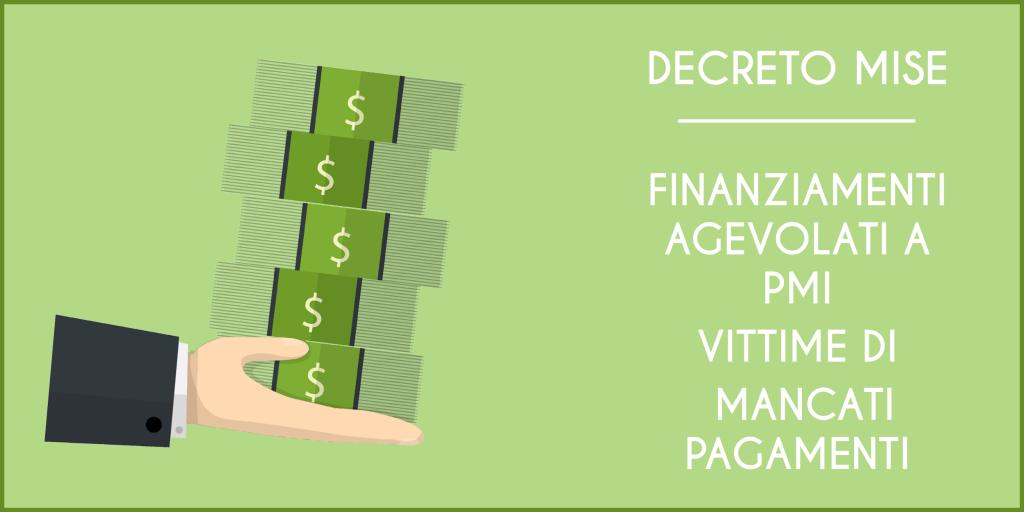 Finanziamenti per PMI vittime di mancati pagamenti
