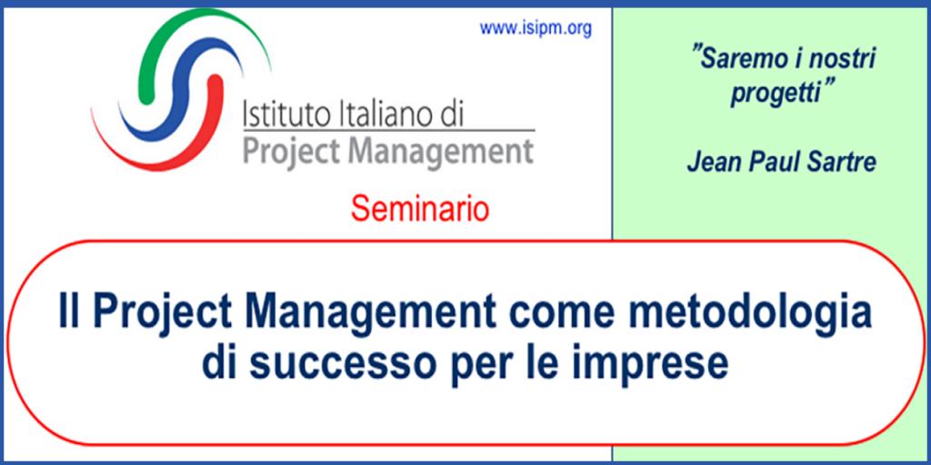 Il seminario, valido 3 CFPM Assirep, corrispondenti a 3 PDU del PMI, è rivolto a imprese e professionisti che hanno la necessità di una migliore organizzazione e gestione delle proprie attività e progetti.