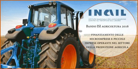 Bando ISI Agricoltura