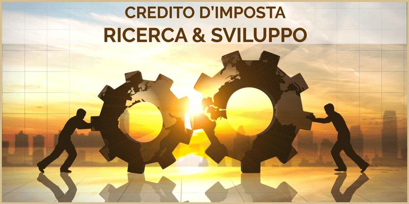 Credito d'Imposta per Ricerca & Sviluppo