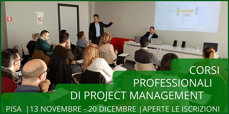 Corso professionale di Project Management a Pisa